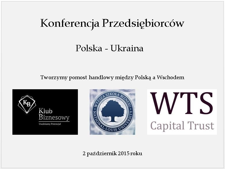 Konferencja Przedsiębiorców Polskich i Ukraińskich